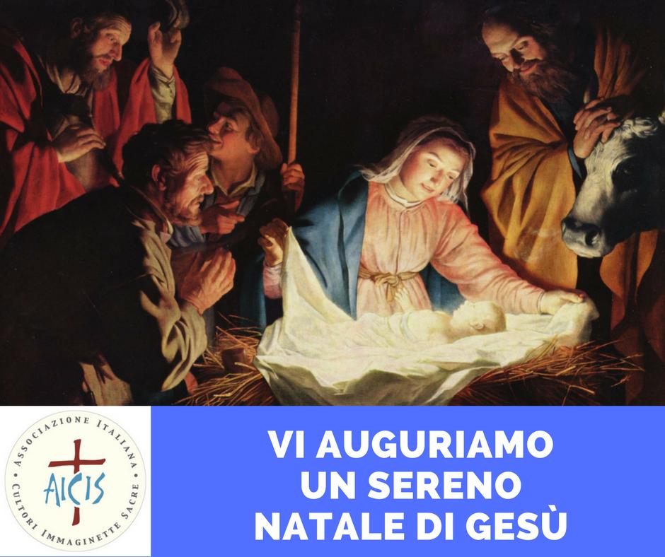 Immagini Natalizie Sacre.A I C I S Associazione Italiana Cultori Immaginette Sacre